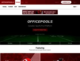 officepools.com screenshot