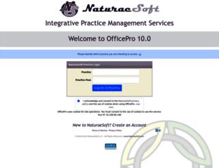 officepro.naturaesoft.com screenshot