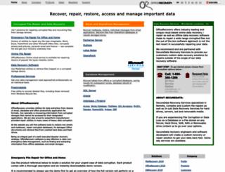 officerecovery.com screenshot