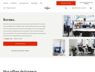 offices.regus.fr screenshot