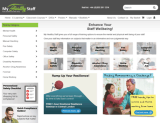 officesafety.co.uk screenshot