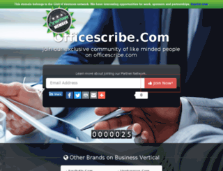 officescribe.com screenshot