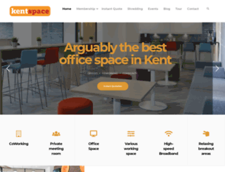officespacekent.co.uk screenshot