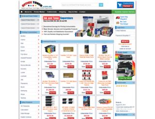 officetoner.com.au screenshot