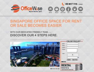 officewise.com.sg screenshot