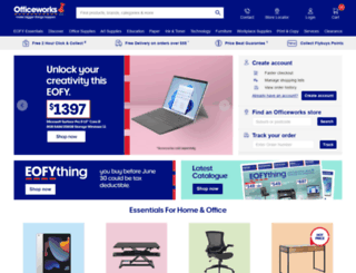 officeworks.com.au screenshot