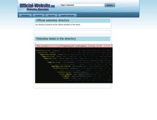 official-website.eu screenshot