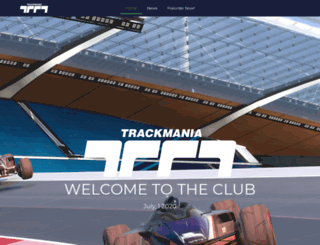 official.trackmania.com screenshot