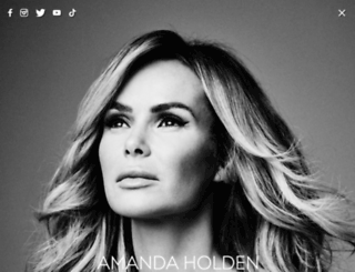 officialamandaholden.com screenshot