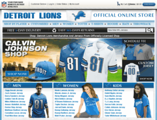 officialauthenticlions.com screenshot
