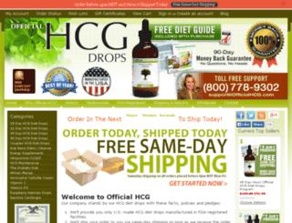 officialhcg.com screenshot
