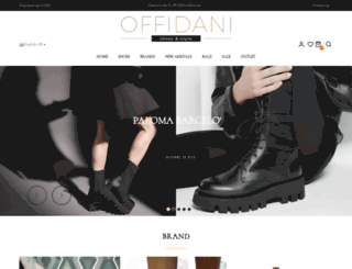 offidanishoes.it screenshot