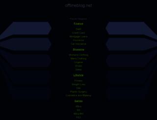 offlineblog.net screenshot