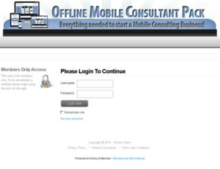 offlinemobileconsultantpack.com screenshot