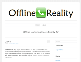 offlinereality.wordpress.com screenshot