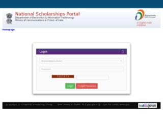 offlinereg.scholarships.gov.in screenshot