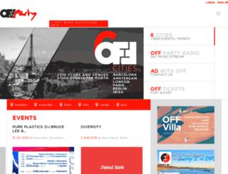 offparty.com screenshot