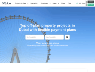 offplan-properties.ae screenshot