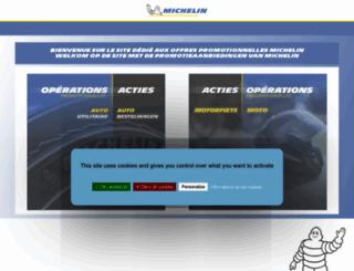 offrepromo.michelin.fr screenshot