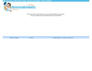 offres-de-stage.annonceetudiant.com screenshot