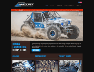 offroad-armory.com screenshot