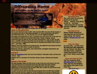 offroadinghome.djmed.net screenshot