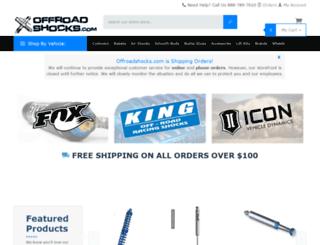 offroadshocks.com screenshot
