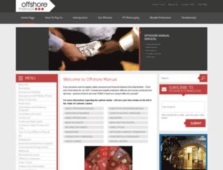 offshore-manual.com screenshot