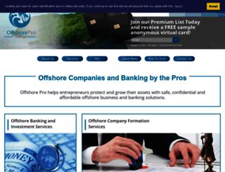 offshore-pro.info screenshot