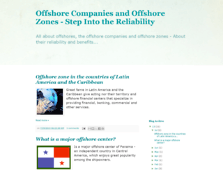 offshore-zones.blogspot.com screenshot