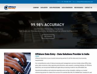 offshoredataentry.com screenshot
