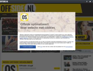 offside.nl screenshot