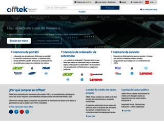offtek.es screenshot