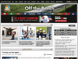 offthebench.nbcsports.com screenshot