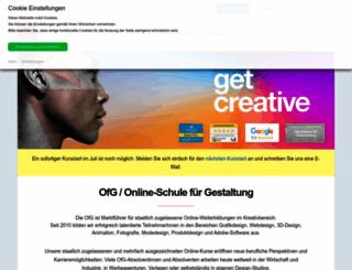 ofg-studium.de screenshot