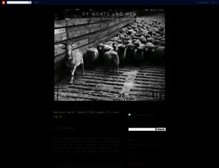 ofgoatsandmen.blogspot.com screenshot