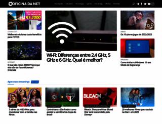 oficinadanet.com.br screenshot