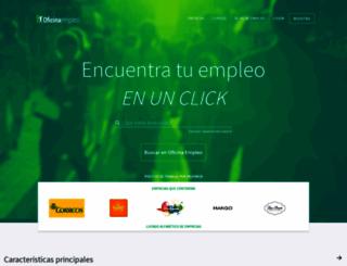 oficinaempleo.com screenshot