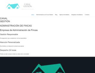 oficinavirtual.canalgestion.es screenshot