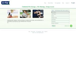 ofile.com screenshot