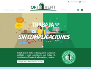 ofirent.com.mx screenshot