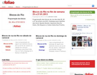 ofoliao.com.br screenshot