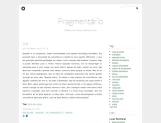 ofragmentario.blogs.sapo.pt screenshot