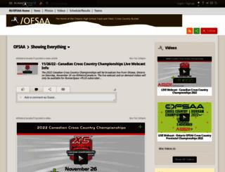 ofsaa.runnerspace.com screenshot