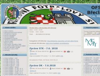 ofsbreclav.cz screenshot