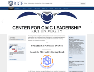ofur.rice.edu screenshot