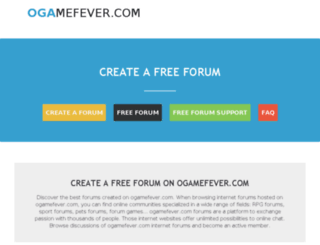 ogamefever.com screenshot