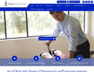 ogawachiropractic.com screenshot