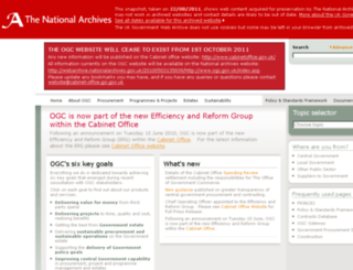 ogc.gov.uk screenshot