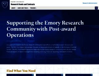 ogca.emory.edu screenshot